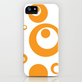 Circles Dots Bubbles :: Marmalade Inverse iPhone Case