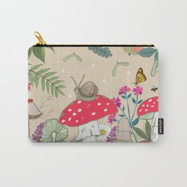 Toadstools in the Woods Carry-All Pouch
