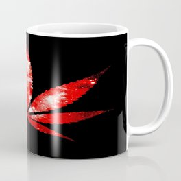 Weed : High Times red Galaxy Coffee Mug