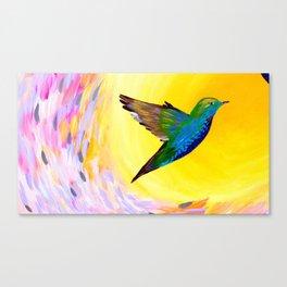 Hummingbird phone case Canvas Print