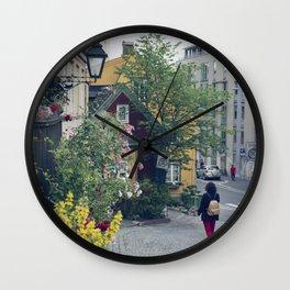 Who said Oslo is grey? Wall Clock