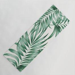 Palm Leaves Yoga Mat