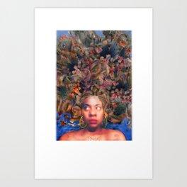 Pretty Prickly Art Print