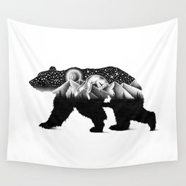 THE NIGHT HUNT Wall Tapestry