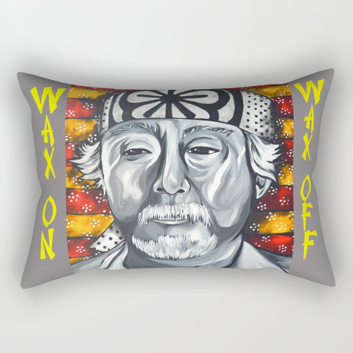 Mr. Miyagi Rectangular Pillow