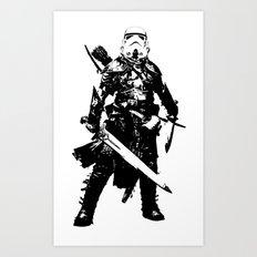 Fantasy Trooper Art Print
