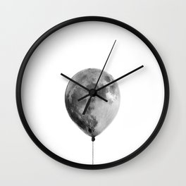 The light side of the moon Wall Clock