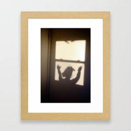 Circus Shadows Framed Art Print