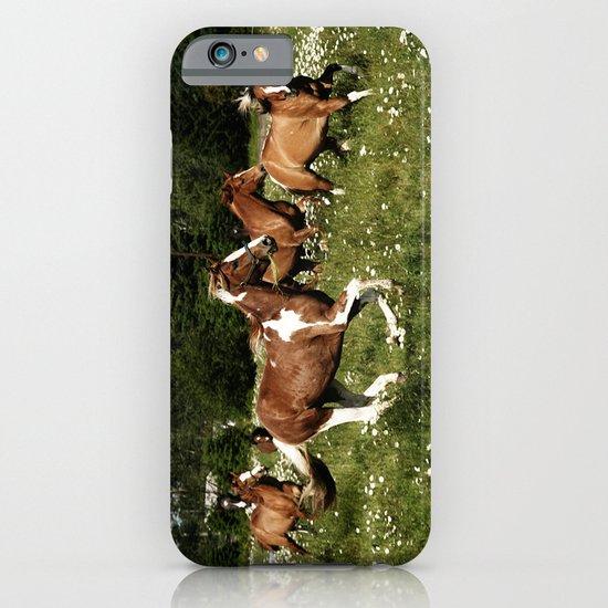 Spring Horse Run iPhone & iPod Case