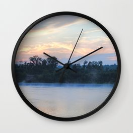 Sunrise at Shiloh II Wall Clock