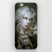 castlevania iPhone & iPod Skins featuring Alucard. Castlevania Symphony of the Night by Nell Fallcard