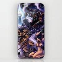 conan iPhone & iPod Skins featuring Conan by MonsterBox