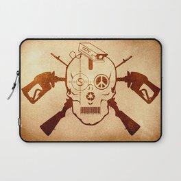 Doom Skull, Beware! Wild West Style Laptop Sleeve