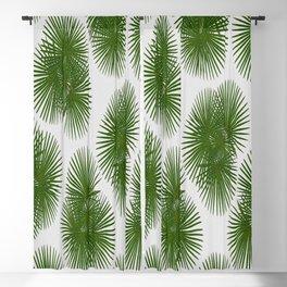 Fan Palm, Tropical Decor Blackout Curtain