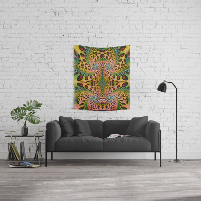 Wild Fiber. Colorful Abstract Pattern Design. Prints