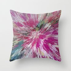 Abstract flower pattern 3 Throw Pillow