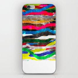 fancy stripes 2 iPhone Skin