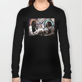 Petit Jesus - WhoTheHellisJesus #1 Long Sleeve T-shirt
