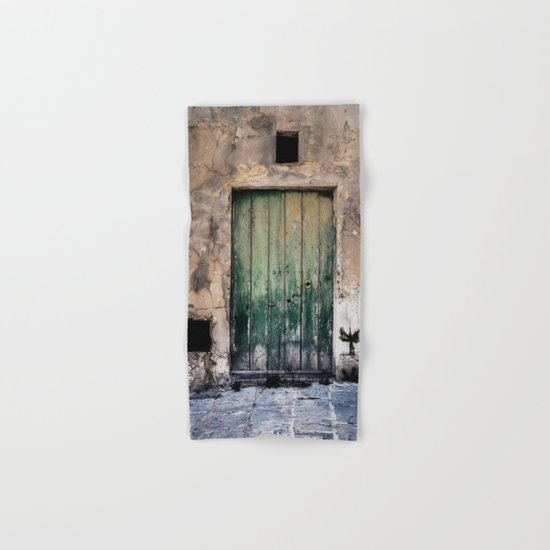 Green Door III Hand & Bath Towel