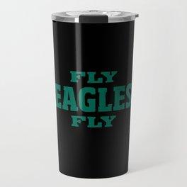 Fly Eagles Travel Mug