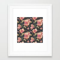hibiscus Framed Art Prints featuring Hibiscus by 83 Oranges™