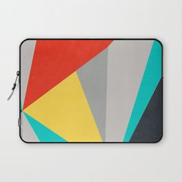 Aggressive Color Block Laptop Sleeve
