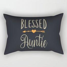 Blessed Auntie Rectangular Pillow
