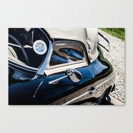 Car, reflect Canvas Print