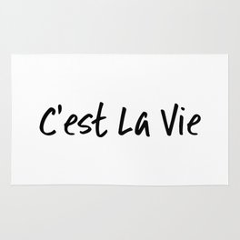 C'est La Vie Rug