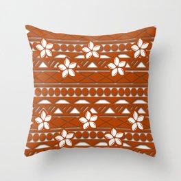 Cassie Tribal Throw Pillow