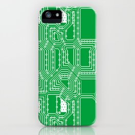 Computer board pattern iPhone Case