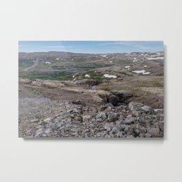 Icelandic Moonscapes - Three Metal Print