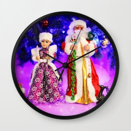 Twas The Night Before Christmas Wall Clock