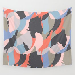 Modern abstract print Wall Tapestry