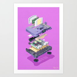 Assembly Required 6 Art Print