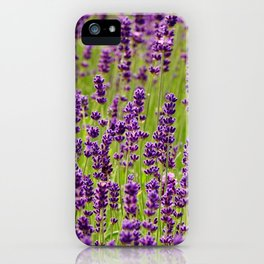 Life in violet color iPhone Case