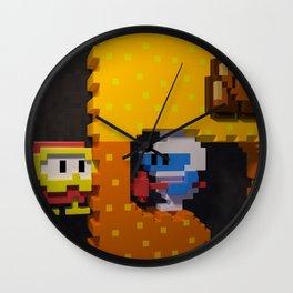 Inside Dig Dug Wall Clock