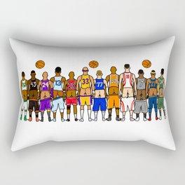 Basketball Butts Rectangular Pillow