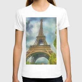 Eiffel Tower - La Tour Eiffel T-shirt