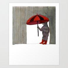 Hard Rain #3 Art Print