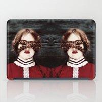 third eye iPad Cases featuring Third Eye by elle moss