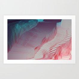 pixel dream K1 Art Print
