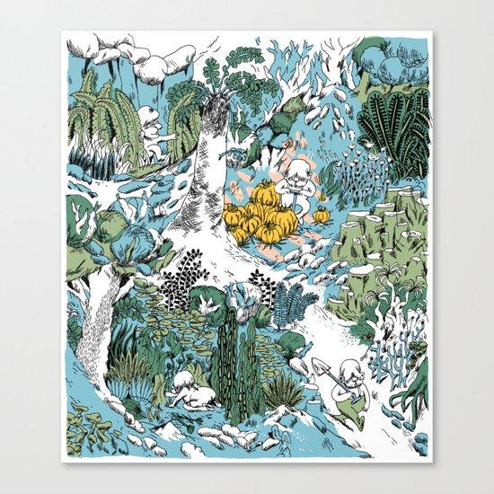 Kitchen Garden Canvas Print