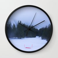 silent Wall Clocks featuring Silent  by Golden Kiwii