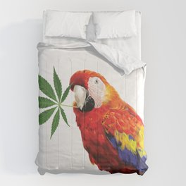 Polly Want A Cracker Comforters