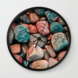 Pebbles of Isle of Skye Wall Clock