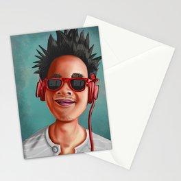Crazy Ass Dood Hairdo Stationery Cards