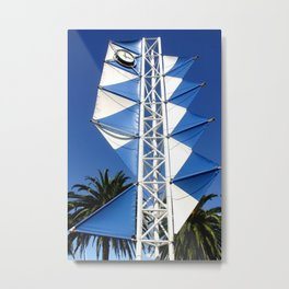 Town Clock - Lakes Entrance Metal Print