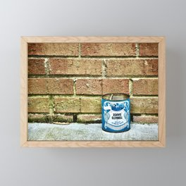 Blue Tomato Framed Mini Art Print