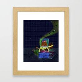 Life is magical Framed Art Print